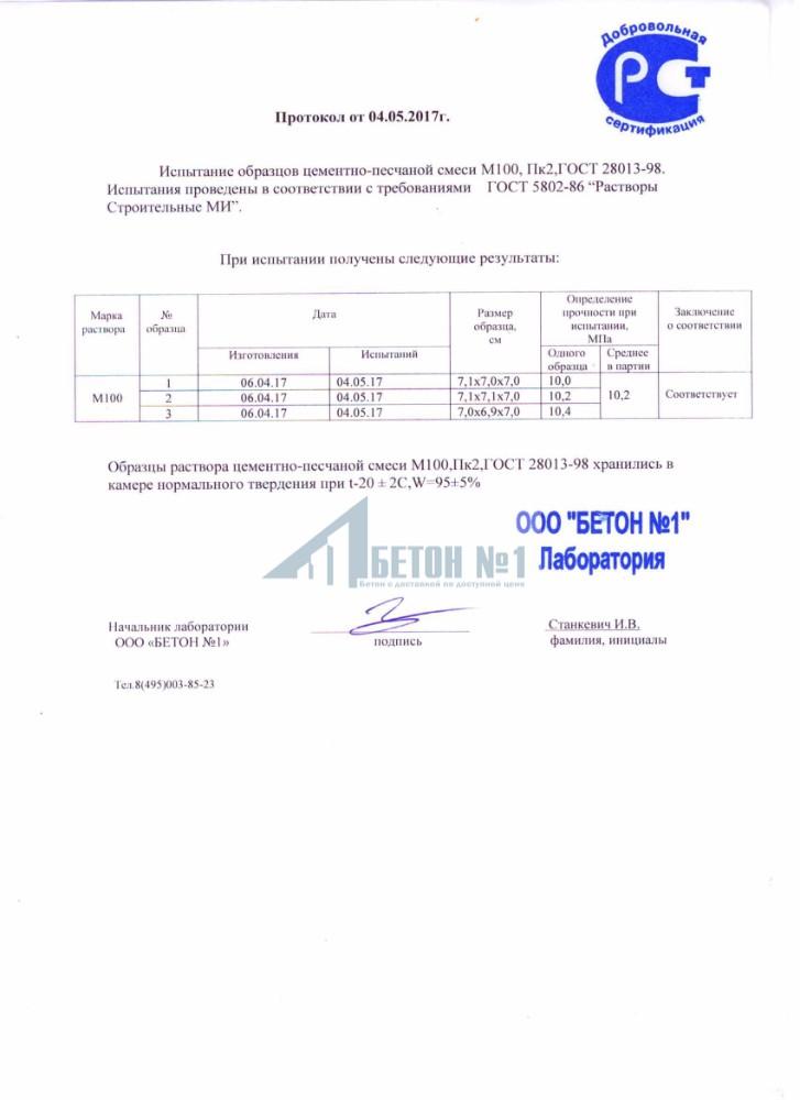 Протокол влажности бетона заводы бетона в новосибирске